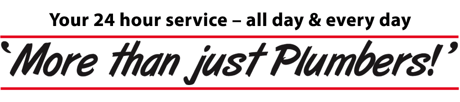 Your 24 hour service - all day & every day. 'More than just Plumbers!'