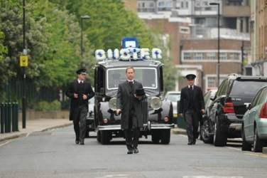 Buster's Funeral Procession