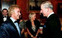 Charlie Mullins and Prince Charles