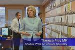 Conservative Party Broadcast Featuring Pimlico Plumbers and Theresa May
