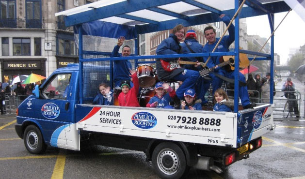 Pimlico Plumbers at the Lord Mayor's Show