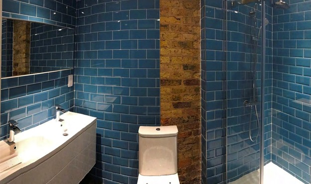 Pimlico bathroom tiling